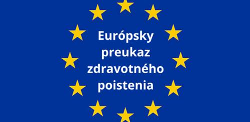Čo je európsky preukaz zdravotného poistenia?