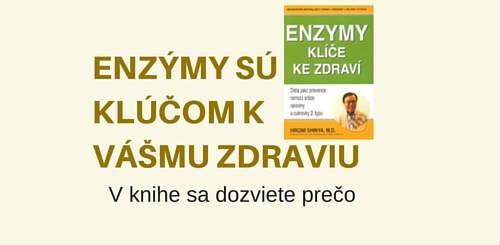 Enzymy – Klíč ke zdraví, kniha