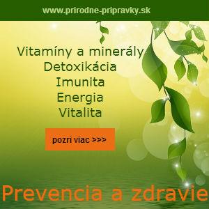 prirodné prípravky pre zdravie
