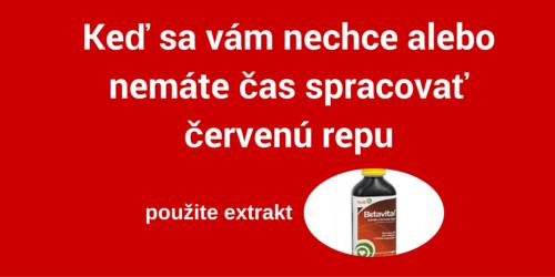 Betavital Klas- extrakt z cvikly s vitamínom C a Rutínom