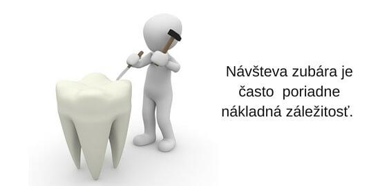 Čo hradia zdravotné poisťovne u zubára?